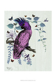 Pink Parrot Prints by  Fab Funky