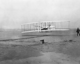 Wright Brothers' First Flight Photo