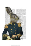 Lieutenant Hare Art by  Fab Funky