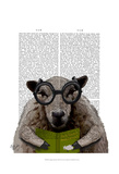 Intelligent Sheep Posters by  Fab Funky