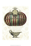 Baroque Balloon with Clock Posters by  Fab Funky