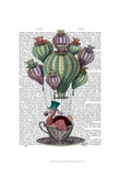 Dodo in Teacup Posters by  Fab Funky