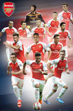 Arsenal- Players 15/16 Posters