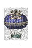 Baroque Fantasy Balloon 4 Prints by  Fab Funky