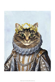 Cat Queen Posters by  Fab Funky