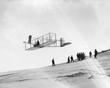 Wright Brothers Flying Glider Photo