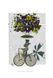 Time Flies Rabbit Posters by  Fab Funky