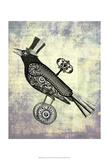 Steampunk Crow Art by  Fab Funky