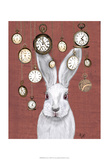 Rabbit Time Posters by  Fab Funky