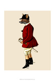 Fox Hunter 1 Prints by  Fab Funky