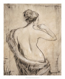 Neutral Nude Study II Prints by Tim