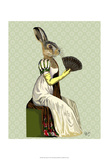 Miss Hare Posters by  Fab Funky
