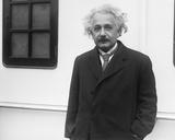 Albert Einstein Arrives in New York Photo