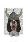 Springer Spaniel Viking Prints by  Fab Funky