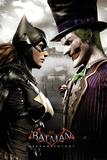 Batman Arkham Knight- Batgirl & Joker Stampe