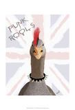Punk Rock Goose Art par  Fab Funky