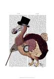 Dapper Dodo Art by  Fab Funky