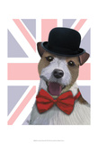 Union Jack Jack Russell Posters by  Fab Funky