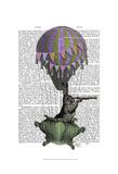 Navigating Rabbit Print by  Fab Funky