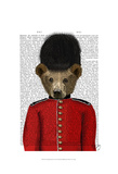 Guardsman Bear Posters by  Fab Funky