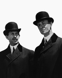 Orville and Wilbur Wright Photo