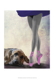 Bloodhound And Ballet Dancer Posters par  Fab Funky