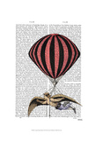 Vintage Flying Machine Prints by  Fab Funky