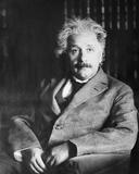 Portrait of Albert Einstein Photo