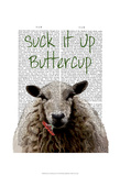 Suck It Up Buttercup Posters by  Fab Funky