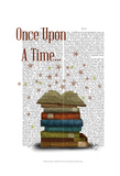 Once Upon A Time Books Plakater af Fab Funky