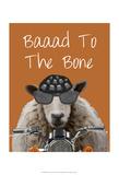 Baaad To the Bone Plakaty autor Fab Funky