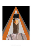 Clockwork Orange Goose Prints by  Fab Funky