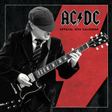 AC/DC - 2016 Calendar Kalendere