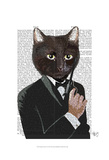 James Bond Cat Posters by  Fab Funky
