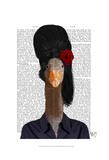 Amy Winehouse Goose Affiches par  Fab Funky