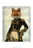 Admiral Fox Full Posters af  Fab Funky