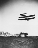 Wright Airplane Flying Photo