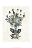 Flutter Time Reprodukcje autor Fab Funky