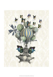 Flutter Time Prints by  Fab Funky