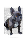 French Bulldog Plain Posters by  Fab Funky