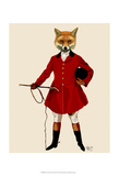 Fox Hunter 2 Full Poster by  Fab Funky