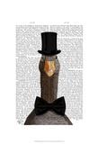 Distinguished Goose Art par  Fab Funky