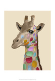 MultiColoured Giraffe Prints by  Fab Funky