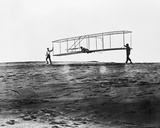 Orville Wright in Glider Photo