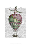 Hot Air Balloon Woman 2 Prints by  Fab Funky