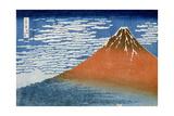Fine Wind, Clear Morning (Gaifu Kaisei) Giclee Print by Katsushika Hokusai