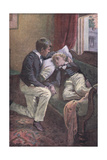 Tom Put His Arm around Arthur's Head Giclee Print by Harold Copping