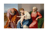 Holy Family with Saint Anne, C.1520 Giclee Print by Vincenzo Di Biagio Catena