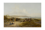 Cullercoats from Tynemouth Giclee Print by John Wilson Carmichael