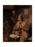 A Young Whistle Player, 1680 Giclee Print by Cornelis Dusart